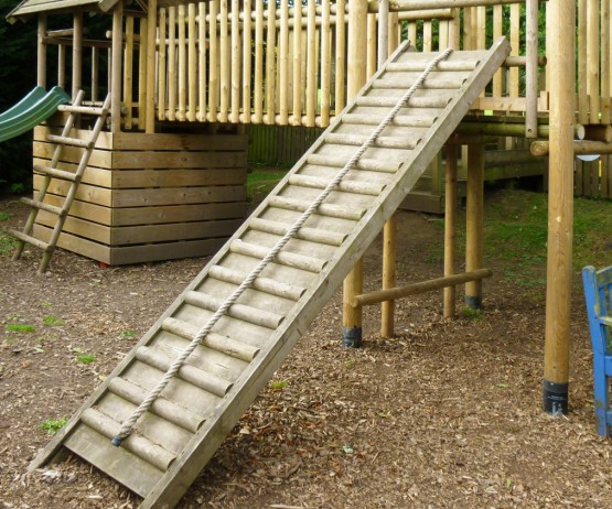 Climbing Ramp with Pull Rope