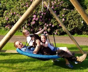 Family Basket Swing