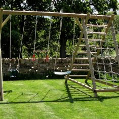 Triple Swing Frame with Net Frame