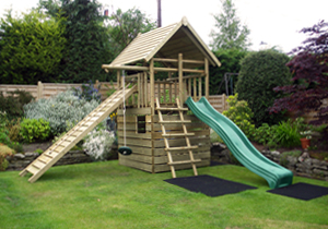 Garden Play Fort
