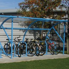 Metal Bicycle Shelter