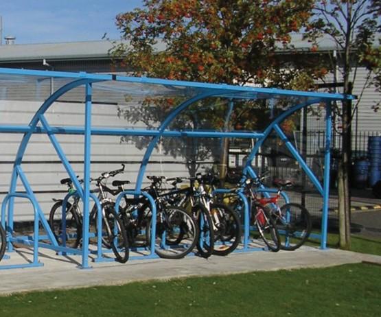 Metal Bicycle Shelter