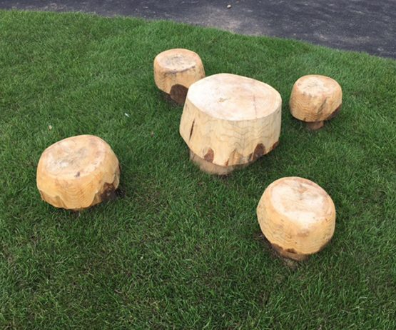Mushroom Stools And Table Set For Schools Caledonia Play