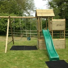 Garden Play Castle with Extension