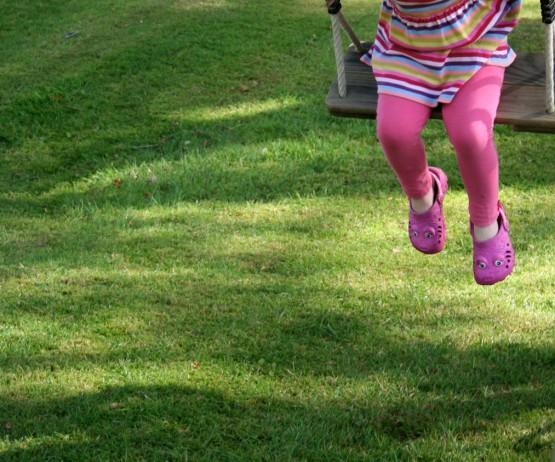 Grass Safety Mat garden play