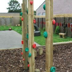 Climbing Hold Stilts for schools Climbing Hold Stilts for play parks