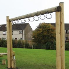 Monkey Bar Rings for agility trails