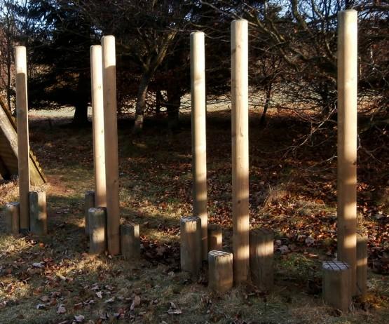 Wooden Striding Timber Stilts