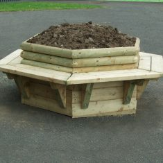 Hexagonal Planter Seating for commercial use Hexagonal Planter Seating for schools