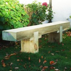 Solid Sleeper Bench Sleeper Bench for schools