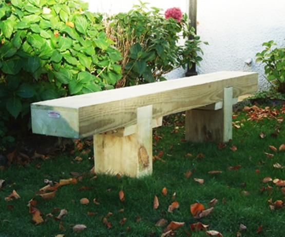 Solid Sleeper Bench Sleeper Bench for schools
