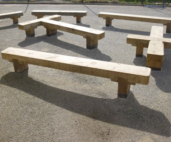 Sleeper Bench Maze