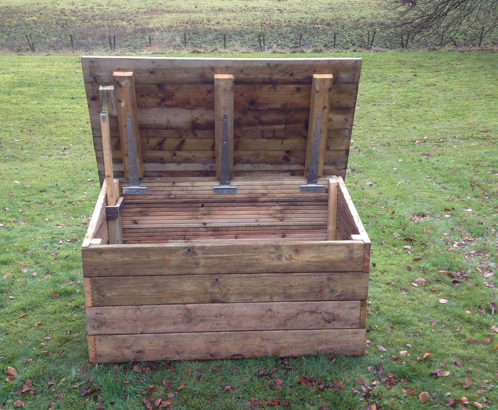 Outdoor Toy Boxes For Daycares : Outdoor toy box caledonia play