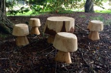 Mushroom Stools and Table Set for schools