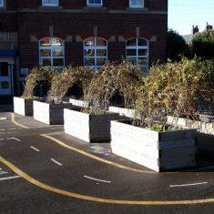 Playground planter