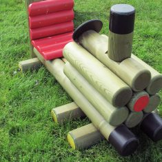 Log Train Engine for schools