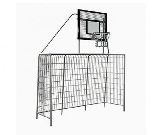 Goal and basketball hoop combination