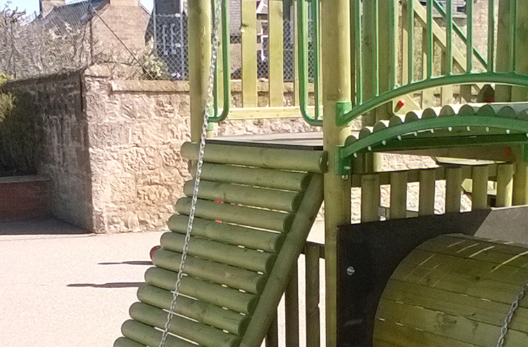 play tower ramp