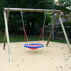 Inclusive Play Basket Swing