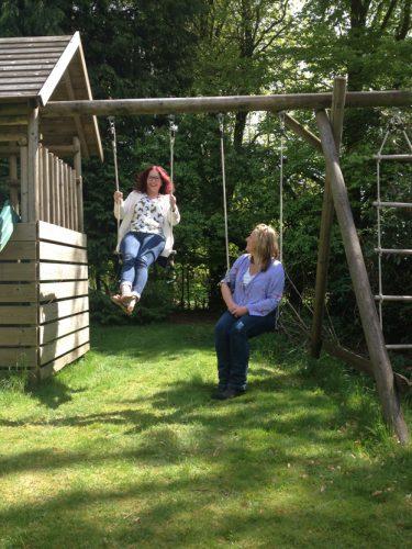 GPFX girls swings garden gallery image
