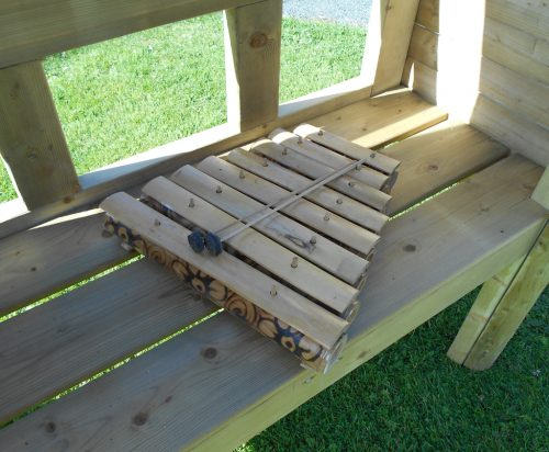 sensory play musical arbour