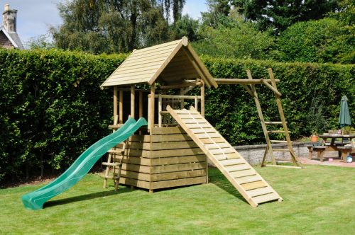 garden play gallery image fort with add-ons and MBL extension