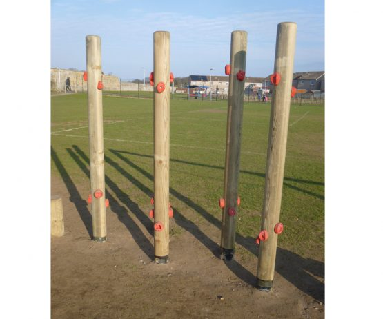 Climbing Hold Stilts for play parks Climbing Hold Stilts for schools
