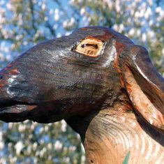 Carved Animals and Birds for play areas