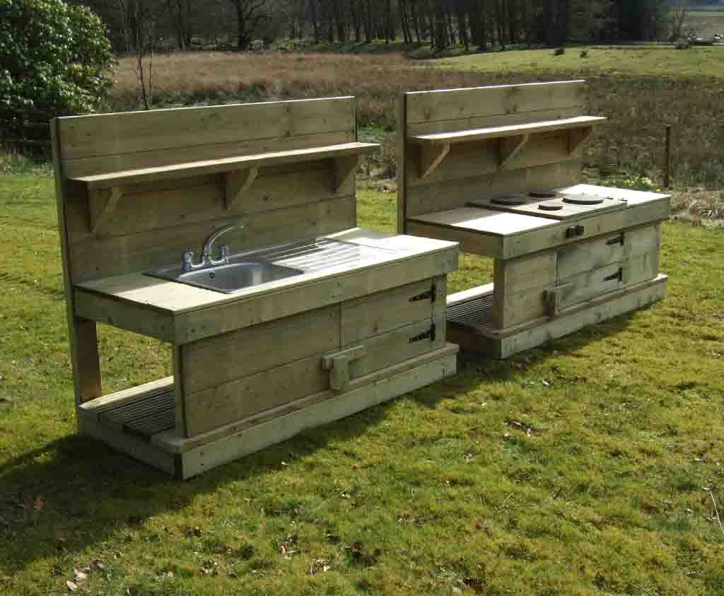 Mud Kitchen Fabulous Wooden Outdoor Play Products Caledonia Play