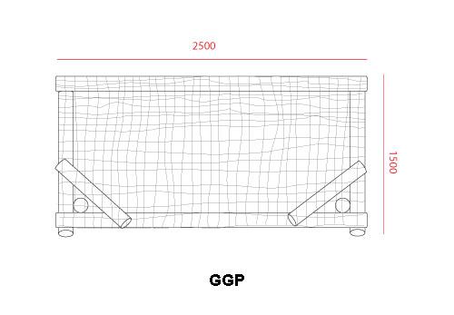 Domestic Footprint Garden Goal Posts