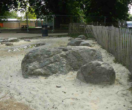 Natural Play Boulders