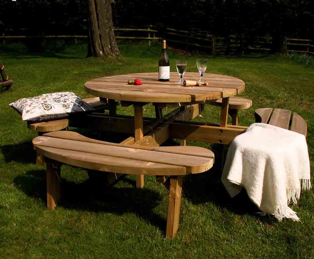 Circular Picnic Table CPB