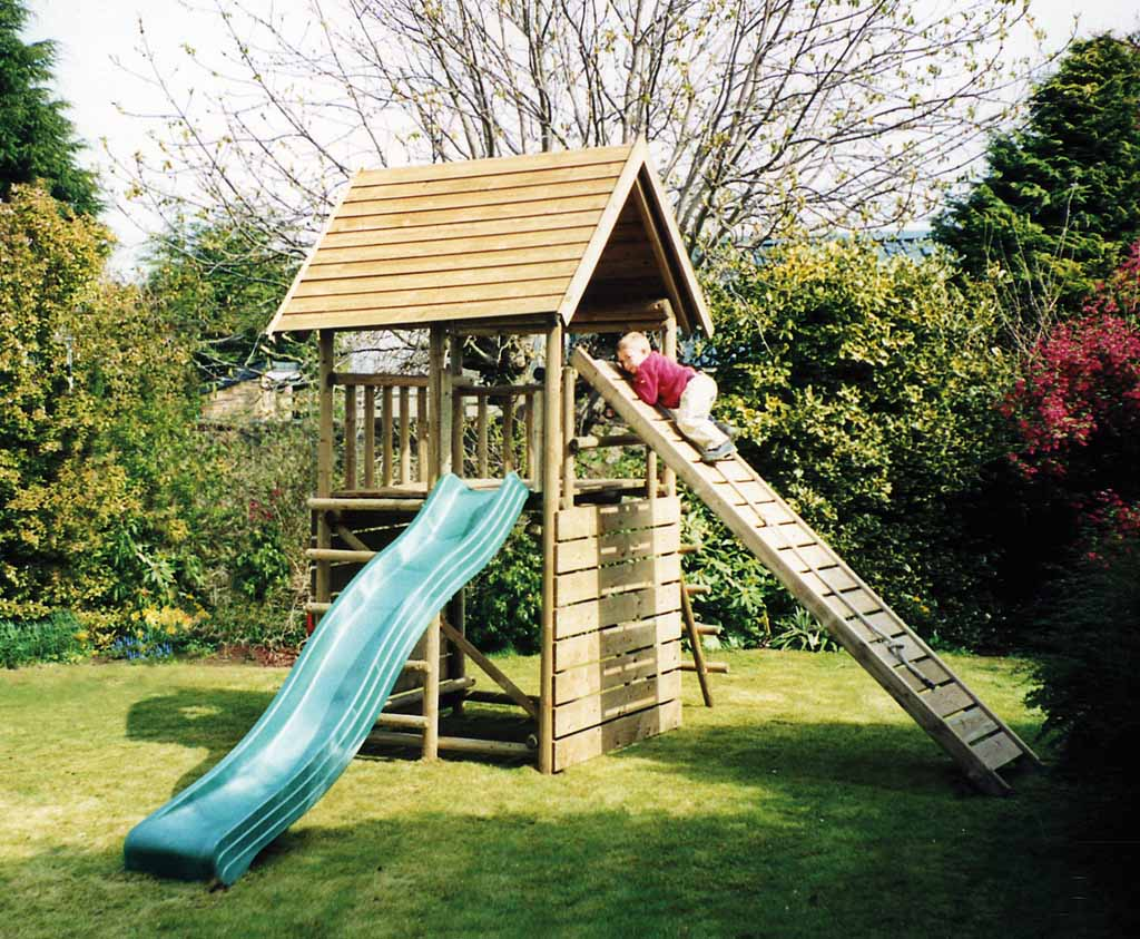 Garden Play Fort Caledonia Play Wooden Play Towers