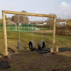 Agility Trail Activity Trail Hanging Tyres