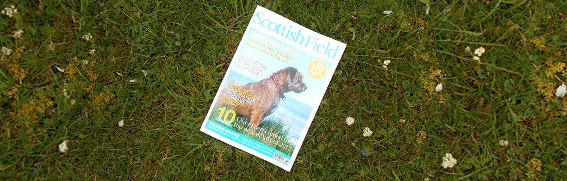 News What's happening Scottish Field Magazine article