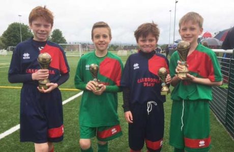 top players receive trophies News what's happening cub team trophy winners May 2017