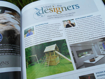 image for text for meet the designers Scottish Field news item