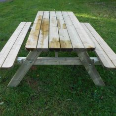 DOM EDU COM Rectangular picnic table product listing image