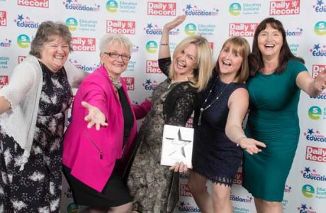 Celebrating success at the Scottish Education Awards News What's happening SEA banner image