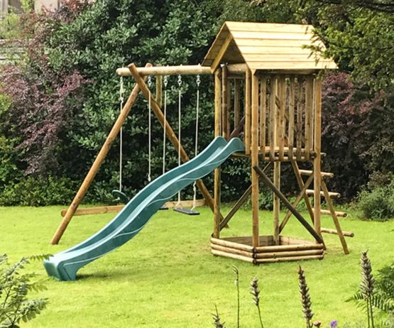 Multi Play Centre with Extension garden play multi play centre product listing gallery image