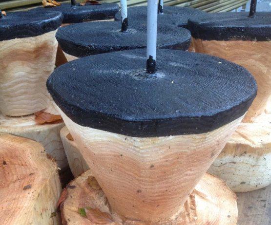 mushroom stool single