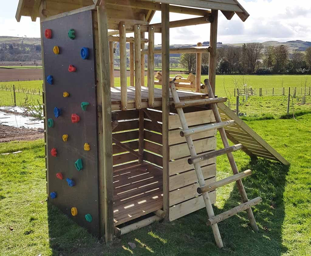 garden play adapted combinations adapted singe towers rock climbing wall