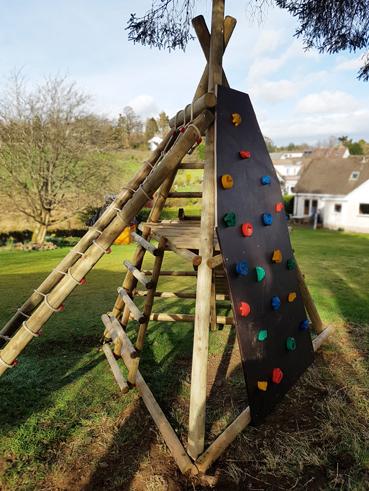 garden play gallery image pyramid climb frame