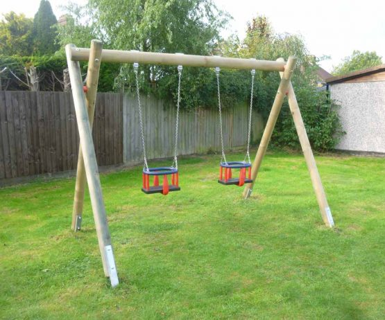Commercial Play Junior double swings product listing image