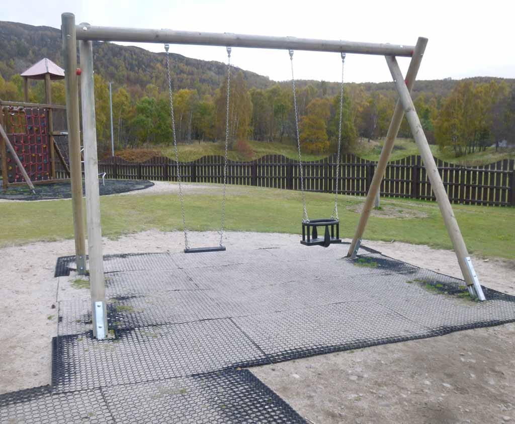 Standard Double Swing Frame Caledonia Play Scotland Uk
