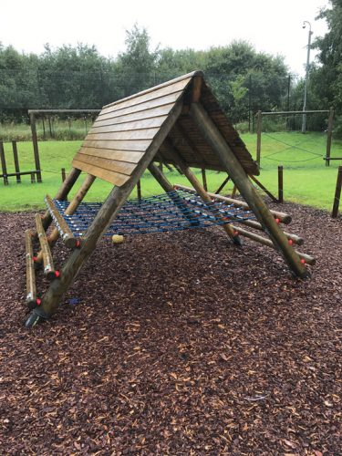 Educational Play gallery image bespoke climbing frame agility
