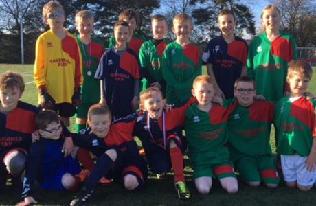News What's happening cubs November 2017 Smiles all round at the Cub football practice