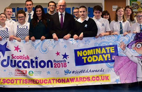 News banner SEA Nominate now for the Scottish Education Awards