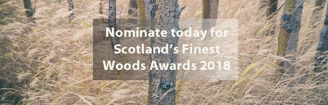 Nominate today for Scotland's Finest Woods Awards 2018