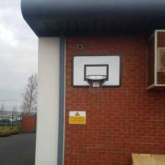 CP-BBC Basketball Hoop & Backboard for schools